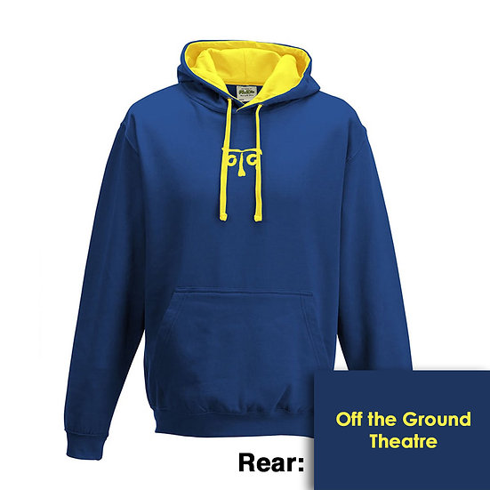 Hoody - Royal Blue/Sun Yellow