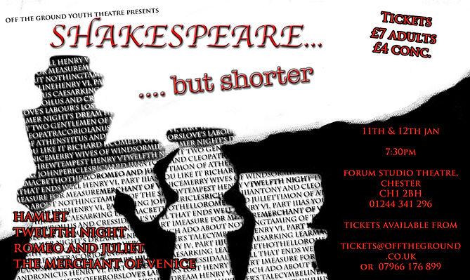 Shakespeare... But Shorter