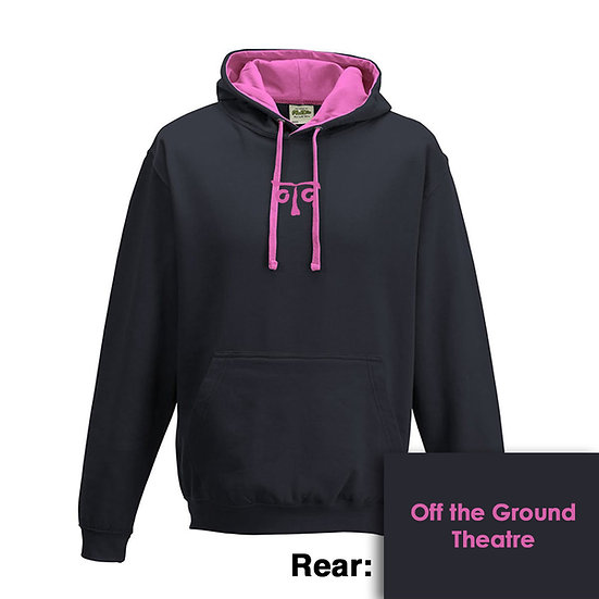 Hoody - Oxford Navy/Candyfloss Pink