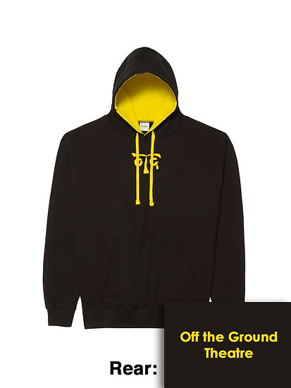 Hoody - Jet Black/Sun Yellow
