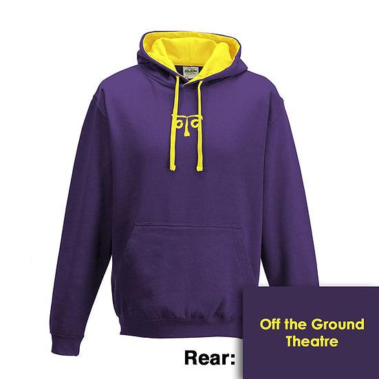 Hoody - Purple/Sun Yellow