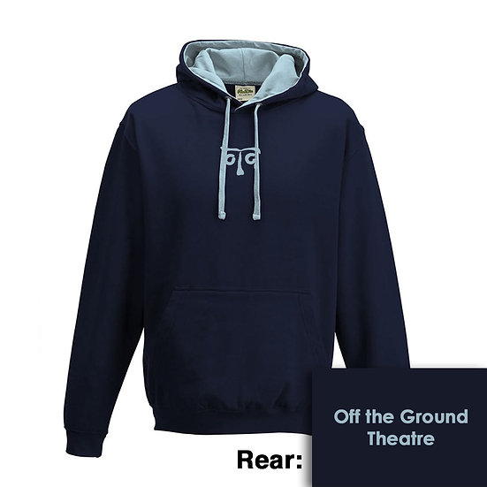 Hoody - New French Navy/Sky Blue