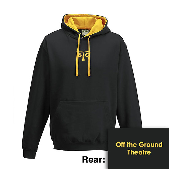 Hoody - Jet Black/Gold