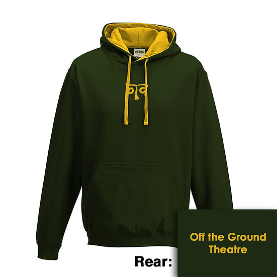 Hoody - Forest Green/Gold