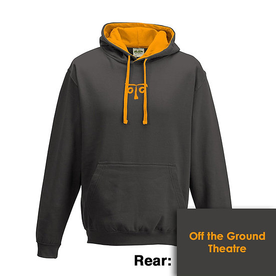 Hoody - Charcoal/Orange Crush