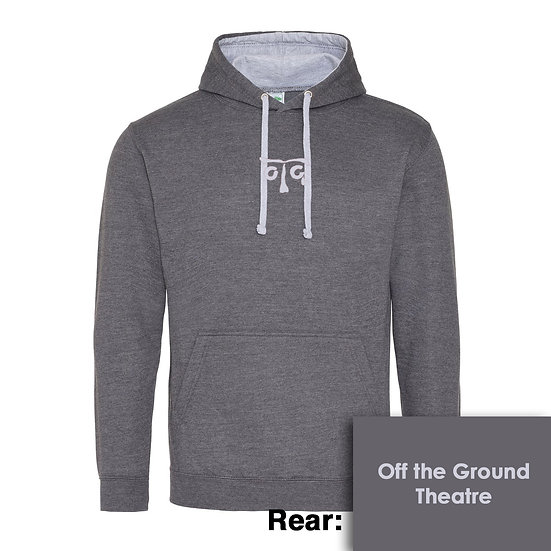 Hoody - Charcoal/Heather Grey