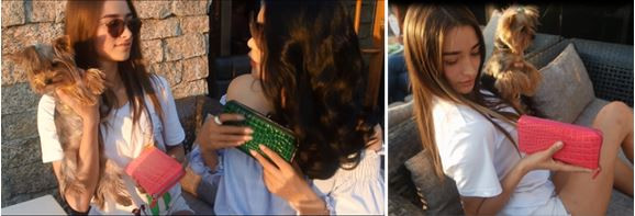 Christian Ontani 여성을 사로잡은 핸드백