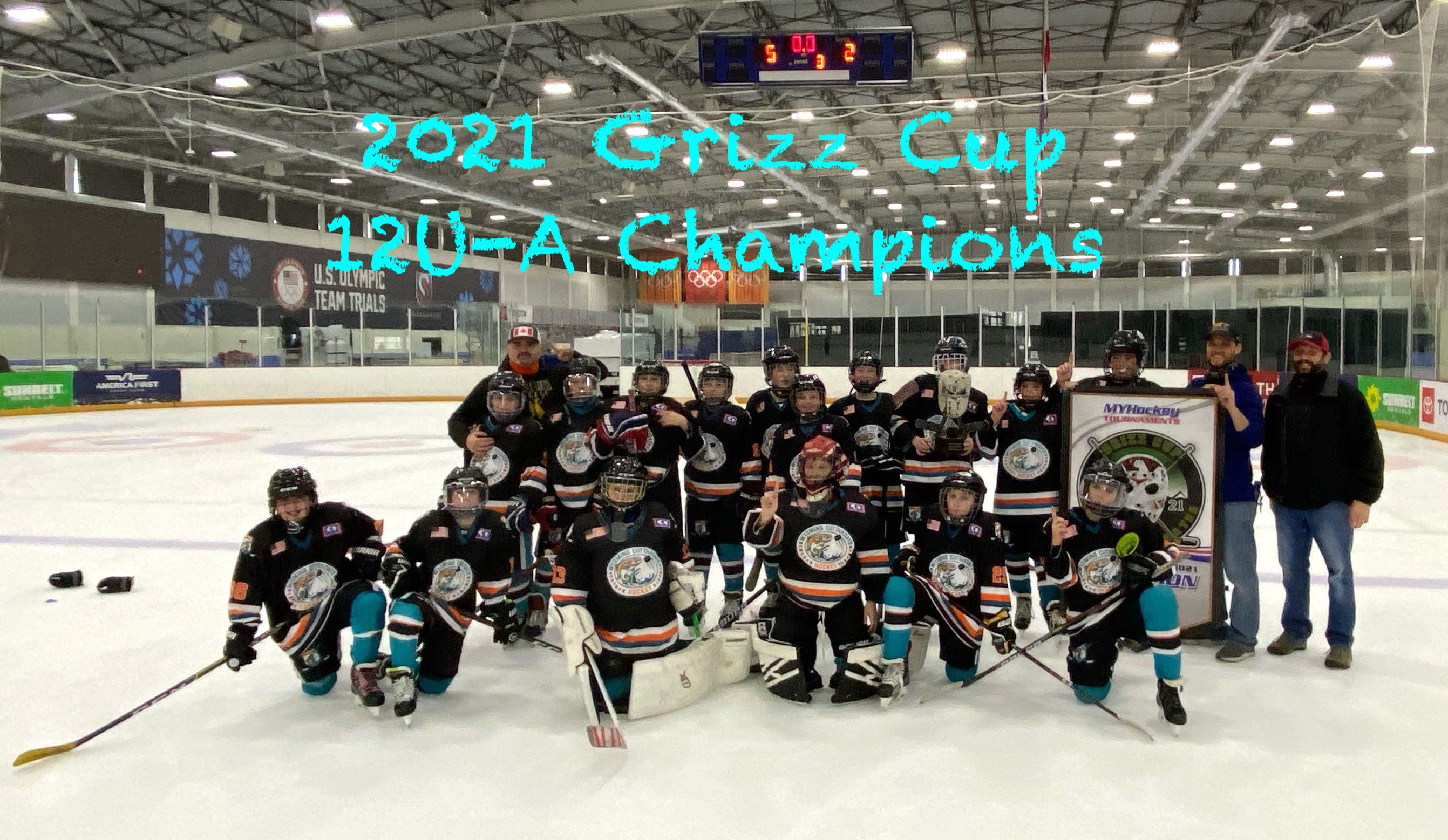 2021 12UA Grizz Cup Champions