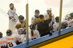 Coach Forsman and 12U Team