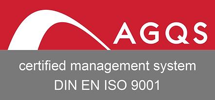 AGQS Zertifizierungszeichen 2018 01.00 E