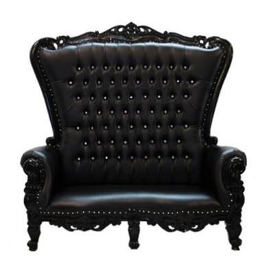 Double Throne Black Black