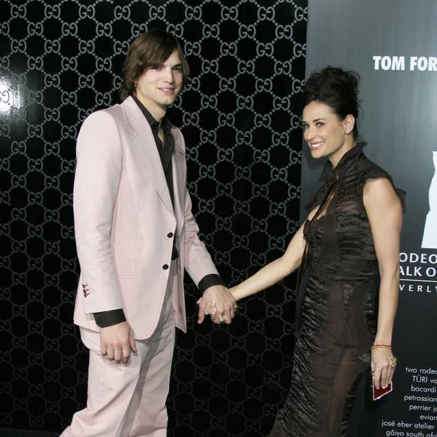 Ashton & Demi
