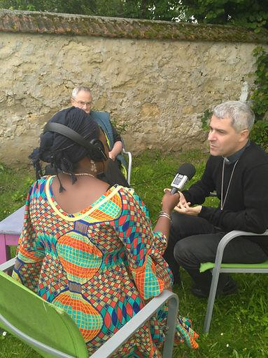 Interview avec l'Evêque auxiliaire de Paris