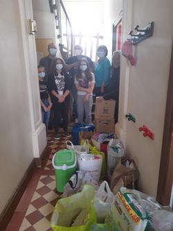 Visite Collégiens-Lycéens et personnel de Gasnier Guy de Chelles foyer st benoit 77