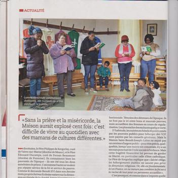 Article dans www.famillechretienne.fr