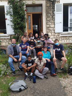 Visite Lycéens-Collégiens-personnel de Gasnier-Guy de Chelles foyer St benoit 77