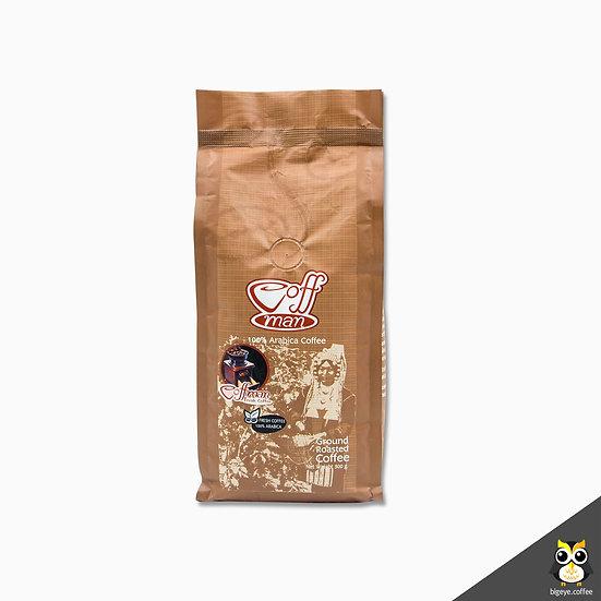 กาแฟอาราบิก้า 100% คั่วเข้มแบบบด Dark Roast Arabica (Ground Coffee)