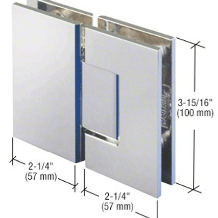 HEAVY DUTY 180 DEGREE GLASS TO GLASS HINGES