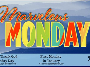 NATIONAL THANK GOD IT'S MONDAY DAY, Character building - Ariennu, a review, & reading, Holmes&#3