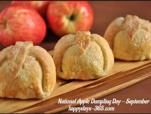 National Apple Dumpling Day Merri Halma's Sarah, A H. Johnstone, Recent reviews & My next pr
