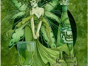 The Green Fairy, Mysterious Deka and an excerpt, a new Review, Stammer Words, R J Mirabal's &quo