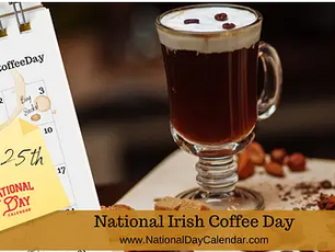 Irish Coffee, article on evolution of the soul, dragons, druids and portals
