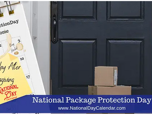 NATIONAL PACKAGE PROTECTION DAY - 3 reviews and what's new!