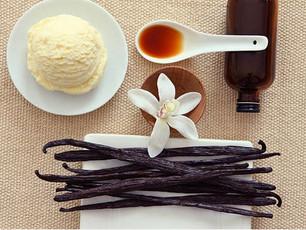 Vanilla Ice Cream History and a recipe, Jacqueline Simonds Ava, Leighton Dean, A new review and comi