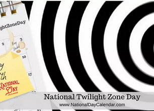 Another week in the Twilight Zone - Writing reports and news!