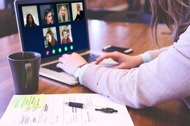 video-conference-Image by Jagrit Parajul