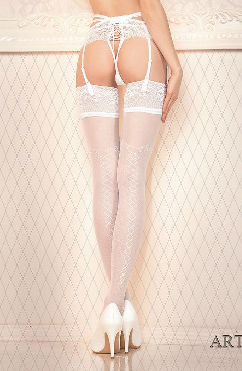 Ballerina (432) Hold Ups White