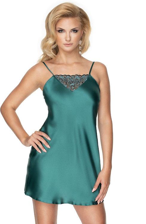 Emerald I Nightdress In Dark Green