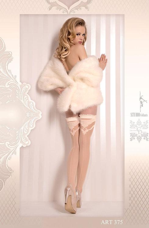 Ballerina (375) Hold Ups Ivory