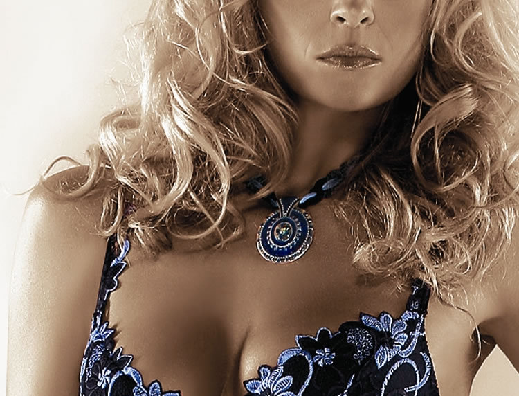 Florence Push Up Bra In Blue