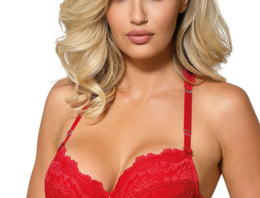Sefia Push Up Bra In Red