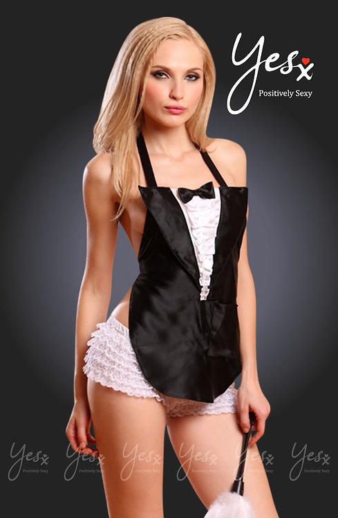 Sexy Maid In Black / White