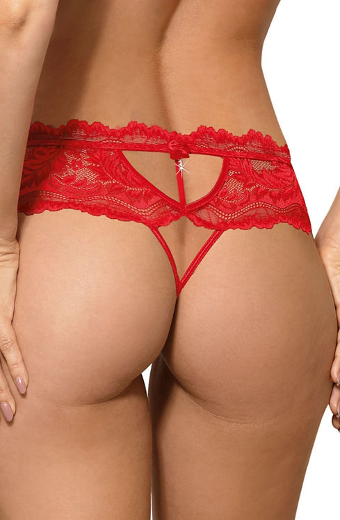 Sefia Thong In Red