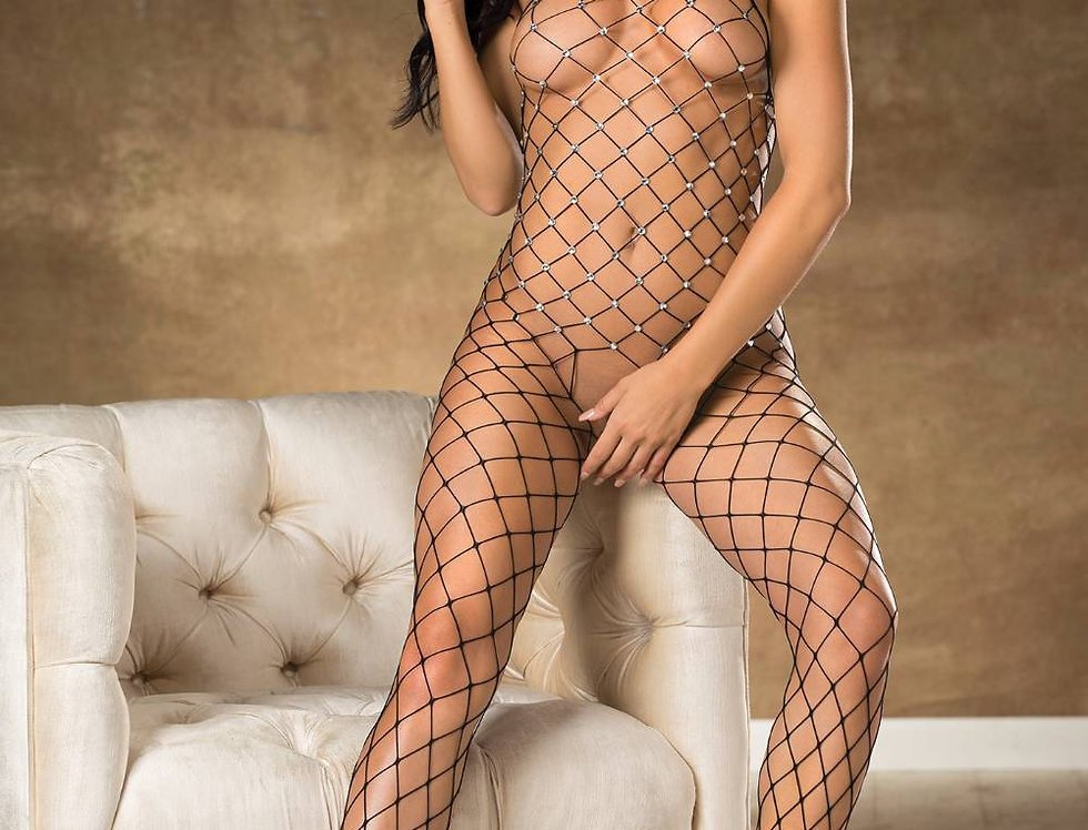 Bodystocking In Black (90449)