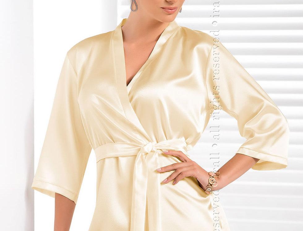 Aria Dressing Gown In Cream