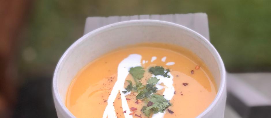 Creamy Thai Butternut Squash Soup