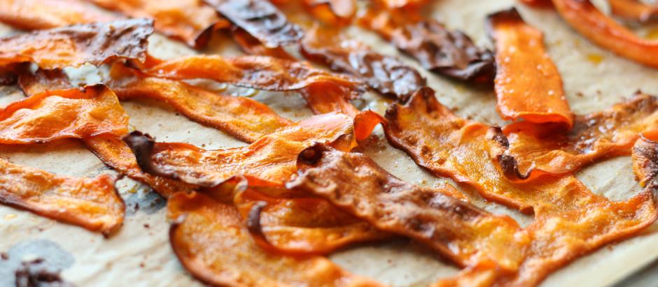 "Carrot Bacon ""BLT"" or ""CBLT"""
