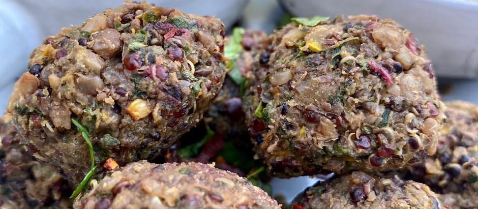 """Lentil Quinoa """"Meatballs"""""""