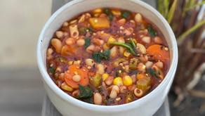 Hearty Minestrone Butternut Soup