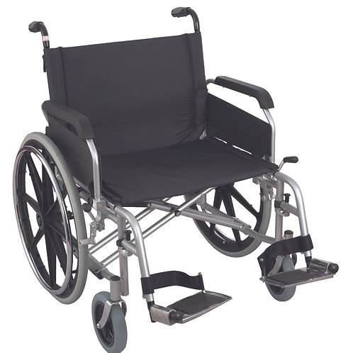 Excel X3 Heavy Duty Steel Extra Wide Wheelchair (Bariatric) (61cm)