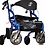 Thumbnail: Airgo Fusion Side-Folding Rollator & Transport Chair