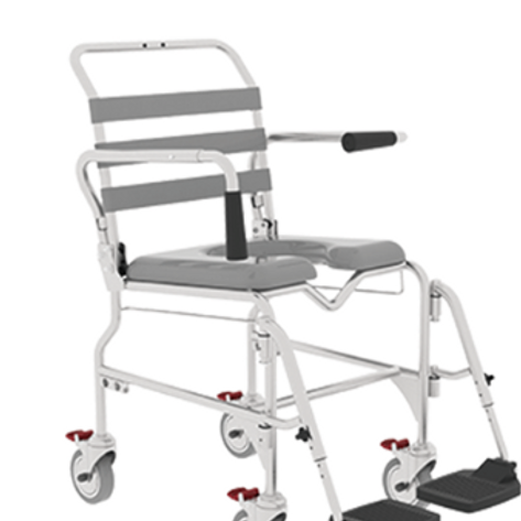 Shower Commode - Swing Away Footrest