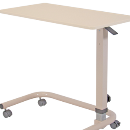 Overbed Table with Thermoform Recessed Top