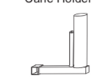Cane Holder Side Single