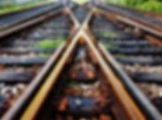 Les voies ferrées