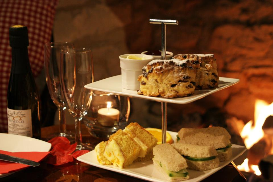 Tea for two at The Blenheim Buttery